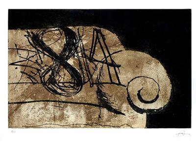 Antoni Tàpies, 'Sofà', 1982