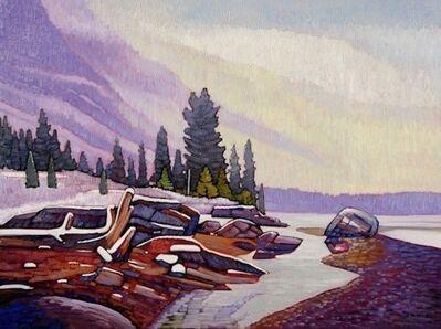 Nicholas Bott, 'Athabasca River Mist', 2017