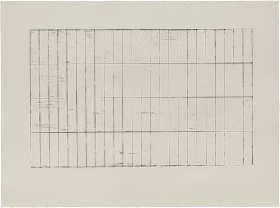 Brice Marden, 'Grid I', 1971