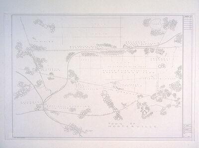 Mark Bennett, 'Town of Hooterville', 1995