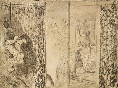 Edgar Degas, 'Loges d'actrices [Adhémar 31; Delteil 28]', 1879-80