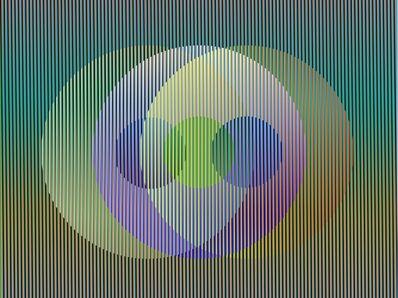 Carlos Cruz-Diez, 'Color Aditivo Panam Círculos 2', 2010