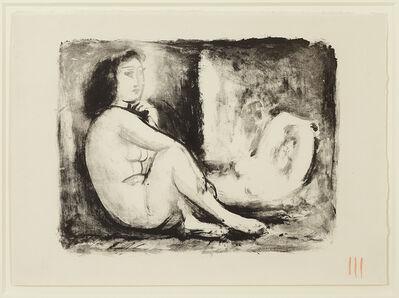Pablo Picasso, 'Les Deux Femmes nues, 1(ii) / 2(ii), November 1945', 1945