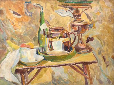 Duncan Grant, 'The Coffee Table, Asheham', 1914