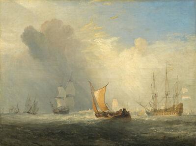 J. M. W. Turner, 'Rotterdam Ferry-Boat', 1833
