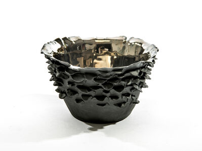 Trish DeMasi, 'Small Black Bowl', 2019
