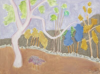 Sally Michel, 'Various Trees', 1985
