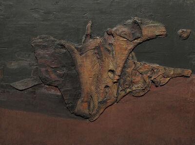 Lucio Muñoz, 'Proyecto para un rójaro', 1972