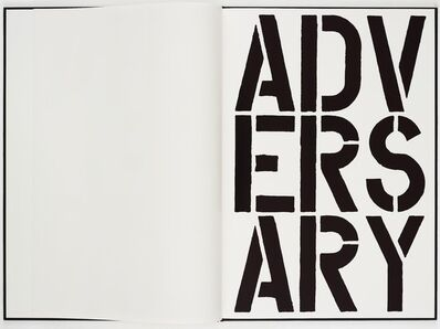Christopher Wool, 'Black Book', 1989