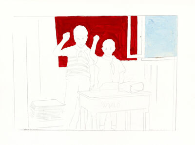 Franco Angeli, 'Classroom (Dario Micacchi sons)'