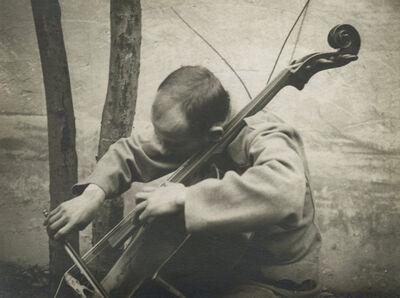 André Kertész, 'Cellist', 1916