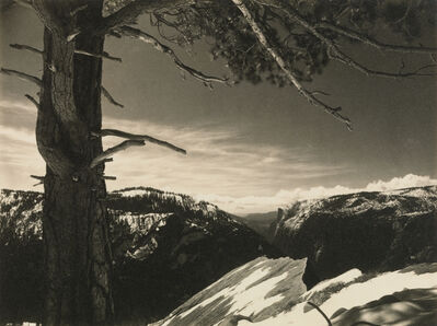 Ansel Adams, 'On the Heights, from the portfolio Parmelian Prints of the High Sierras', ca. 1923