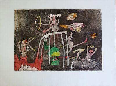 Roberto Matta, ' Hommage aux prix Nobel', 1974