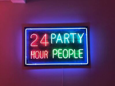 Illuminati Neon, '24 Hour Party People', 2020