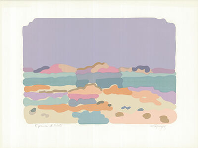 Charles Lapicque, 'Lagune bretonne', 1959