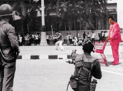 Manit Sriwanichpoom, 'Horror in Pink #3', 2001