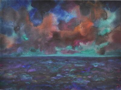"""Herbert Beck, 'Abend am Meer""""', 1995"""