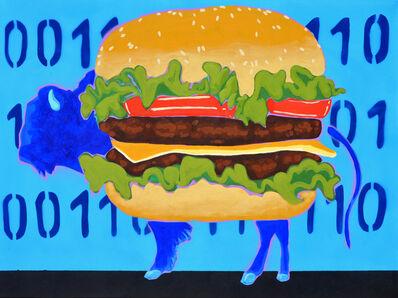 Frank Buffalo Hyde, 'BBB-Binary Buffalo Burger', 2017