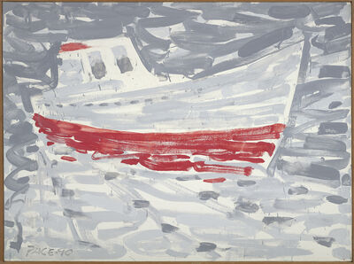 Stephen Pace, 'Sardine Boat in Fog (90-5)', 1990