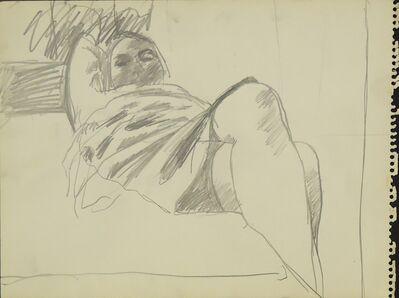 Sidney Goodman, 'Woman with Crossed Legs', ca. 1964