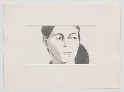 Alex Katz, 'Roxanne (from June Ekman's Class)', 1972