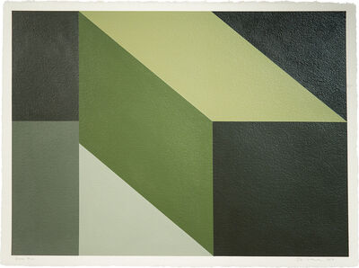 Mary Iverson, 'Green Study', 2018