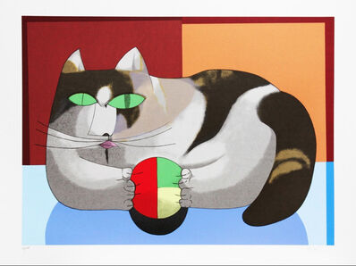 Inos Corradin, 'Cat and ball', 2011