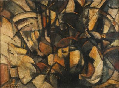 Roberto Marcello Baldessari, 'Espansione di forze + atmosfera', 1915-16