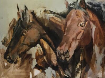 Diana Tremaine, 'War Horse', Contemporary