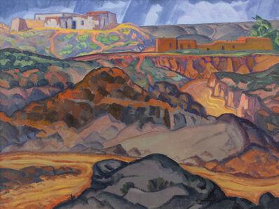 Raymond Jonson, 'Arroyo No. 4', 1922
