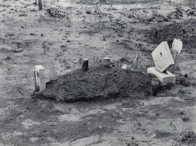 Walker Evans, 'Child's Grave, Hale County, Alabama', 1936