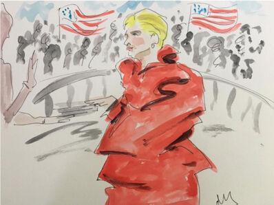 manuel santelices, 'Hillary in Maison Margiela', 2017