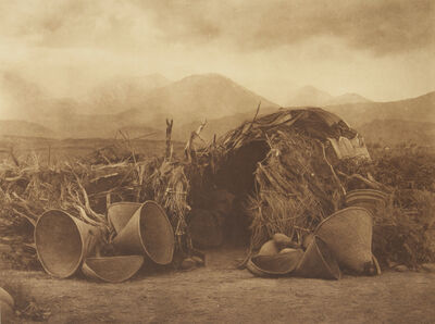 Edward Sheriff Curtis, 'A Mono Home', 1907-1930