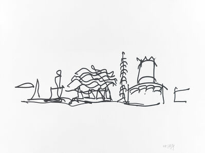 Frank Gehry, 'Study 4', 2009