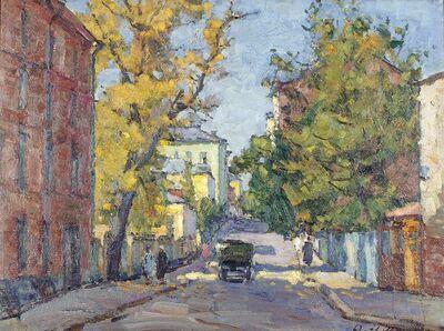 Georgy Valeryanovich Ivanovsky, 'A street in Moscow', 1962