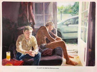 "Muntean & Rosenblum, 'Untitled (""An action can never…""), ', 2018"