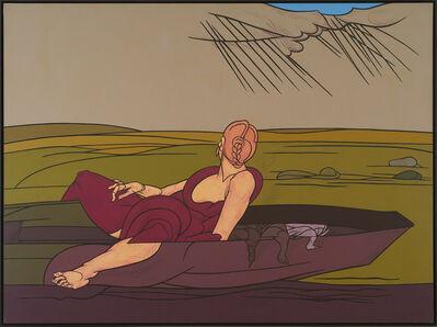 Valerio Adami, 'L'incantesimo del lago', 1984