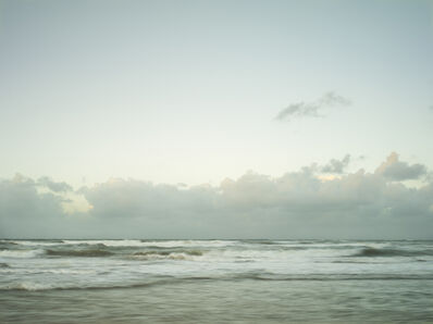 Donald Weber, 'Juno Beach - October 21, 2014, 6:44pm. 11ºC, 66% RELH, Wind WNW, 18 Knots. VIS: Good, Clear', 2014