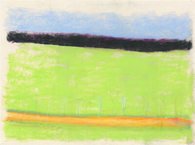 Wolf Kahn, 'Across A Green Field', 2014