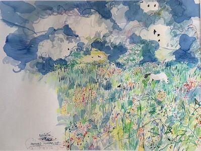 Philip Sutton RA, 'Heather's Meadow ', 1996