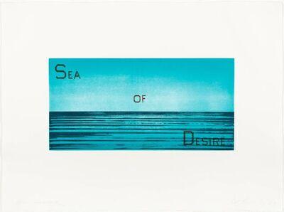 Ed Ruscha, 'Sea of Desire (WAC 138)', 1983