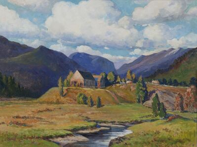 Henry Orne Rider, 'In the Franconia Valley, New Hampshire', 1936