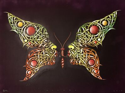 Otto Schade, 'Butterfly kiss', 2015