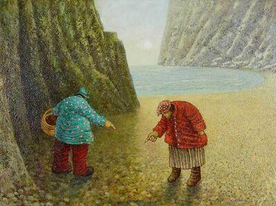 Simon Garden, 'Pebble Pointing Practice', 2017