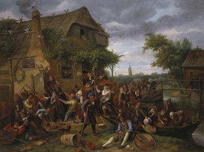 Jan Steen, 'A Village Revel', 1673
