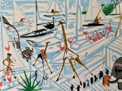 Donald Robertson, 'Santa Barbara Zoo/ Yacht Club', 2020