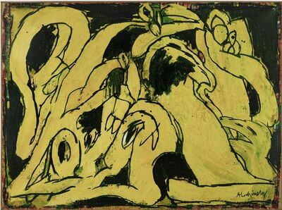 Pierre Alechinsky, 'L'Oreille interne', 1978
