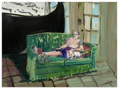Deborah Brown, 'Mathilda and the Sphinx', 2020