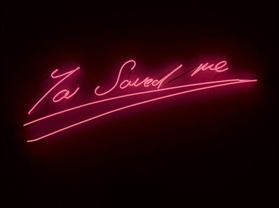 Tracey Emin, 'You Saved me', 2012