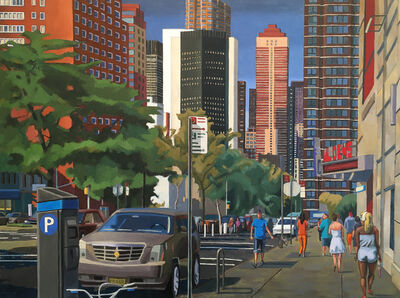 Nagib Nahas, 'View of 2nd Avenue from 31st Street', 2019